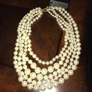 NEW! J. Crew pearl necklace with tag